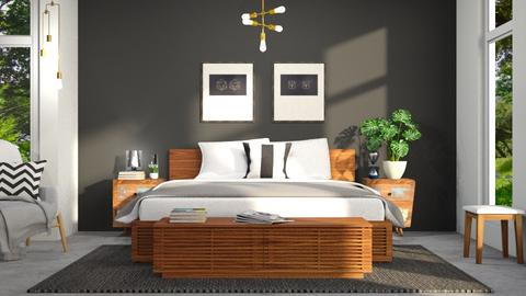 Bedroom - Modern - Bedroom - by Dayanna Vazquez Sanchez