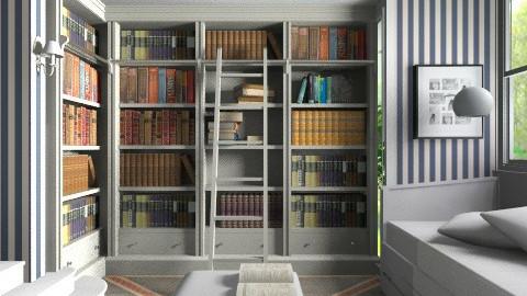 Luxury Library - by Ana Juntez