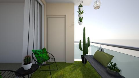 balcony - Garden - by smariahm98