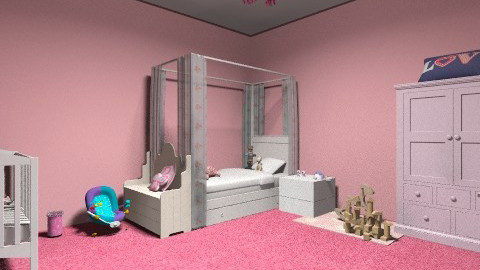 PINK - Glamour - Kids room - by NathanLOVER123