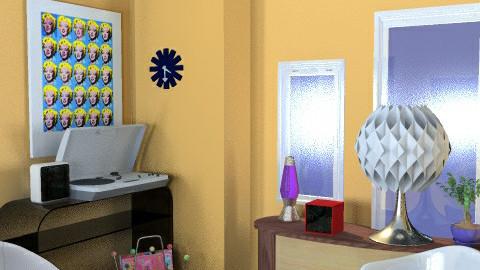 Retro room 2 - Retro - by mydeco_Jo