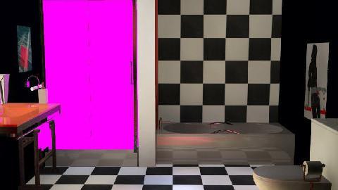 retro bathroom - Retro - Bathroom - by thenameislauren