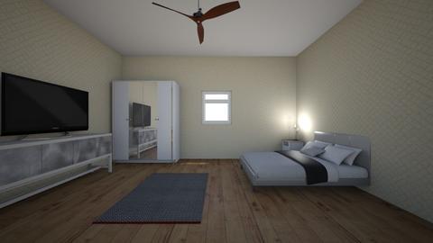 hotel single room - Modern - Bedroom - by EllieWalker01