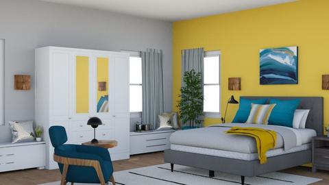 Upscale Bedroom - Modern - Bedroom - by laurenpoisner