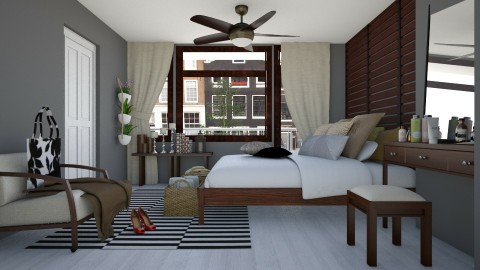 Bedroom redesign - Modern - Bedroom - by ANAAPRIL