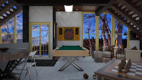 Game room - Country - by Sue Bonstra