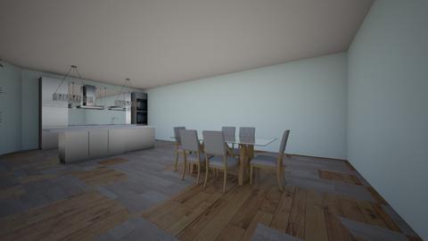 Housept1 - Living room - by hellohello88