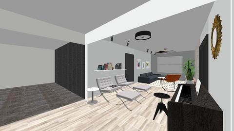 TV Room - Living room - by freddycastro