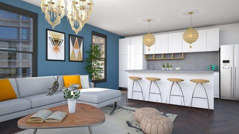 MADSEN  - Living room - by cp_interiors