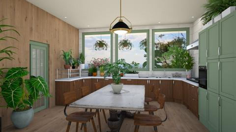 jungly - Kitchen - by Phospective