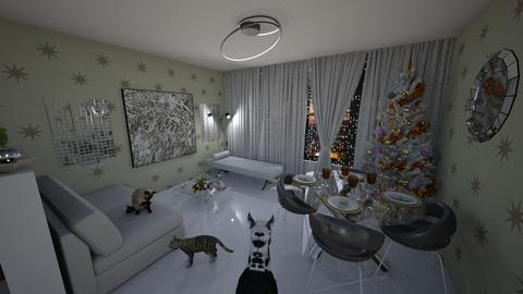 Sotomayor Christmas - Eclectic - Living room - by LuzMa HL