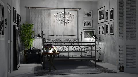 Shadows And Dreams - Feminine - Bedroom - by LuzMa HL