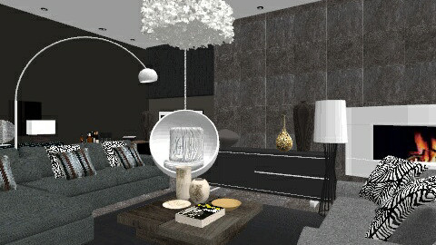 Peverel Home - Living Roo - Modern - Living room - by laurawoodley