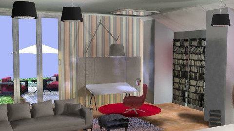 My Room - Living room - by gosia