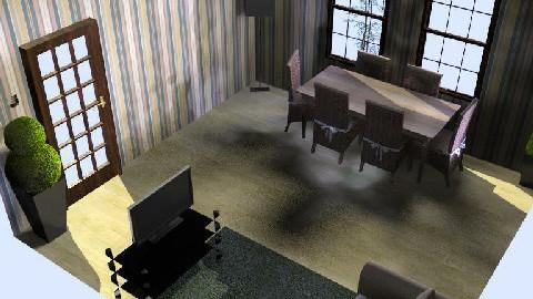 Livingroom/Diningroom - Dining Room - by jenny_