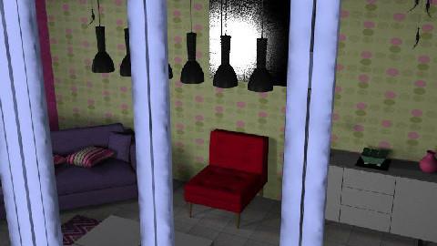 A spot of colour!! - Living room - by Kelerah