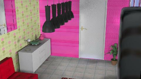 A spot of colour!!! - Living room - by Kelerah