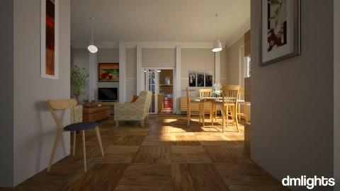 Noorthbrook oak roadfinal - Living room - by DMLights-user-992086