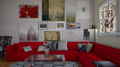 antes - Living room - by wiwa