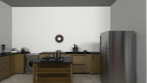 kitchen dinner - Minimal - Kitchen - by saliha