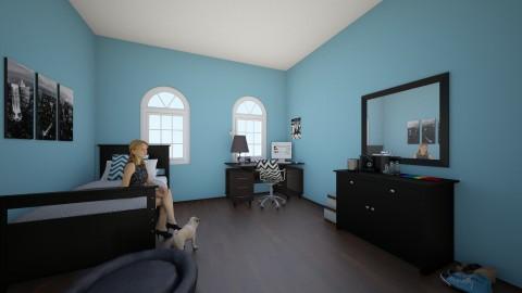 teenage bedroom - Bedroom - by ockey33