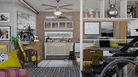 402 b cali ave basement - by Teri Dawn