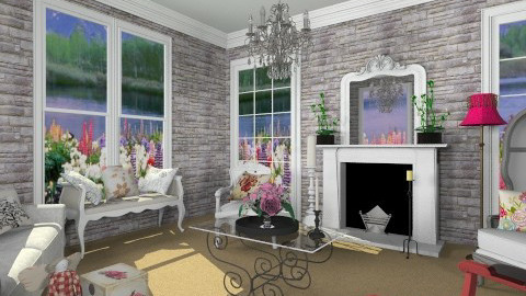 chic place - Living room - by russian wolf