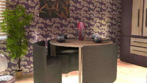 Oriental Flavour - Dining Room - by MagnifiquE