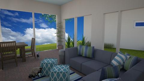 Patio 2 - Living room - by Dwellings LLC