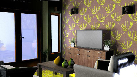 earthy - Living room - by SarahLou