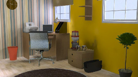 chic office - Office - by SarahLou