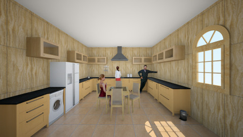 Bucatarie 18 - Rustic - Kitchen - by Ionut Corbu