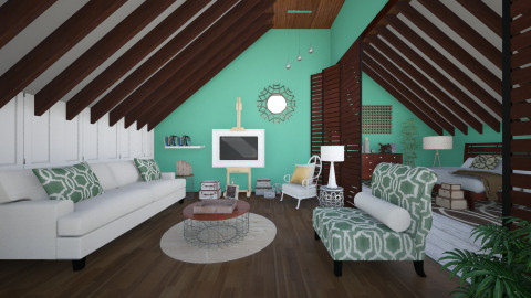 Bamboo - Eclectic - Living room - by Laurika