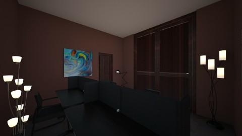 rustic kid office - Rustic - Office - by shadowscythe
