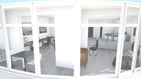Vernadskogo appartment - Minimal - Living room - by rmuradov