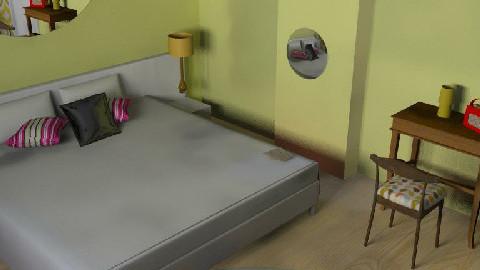 retro 2 retro - Retro - Bedroom - by Alicat76