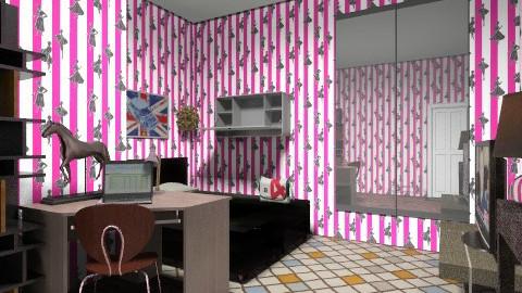 ajengpram - Bedroom - by barly