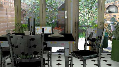 a + a - Dining Room - by maumau