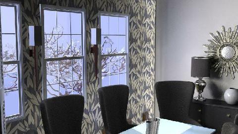 BLACK IS BACK - Dining Room - by Joshwaa