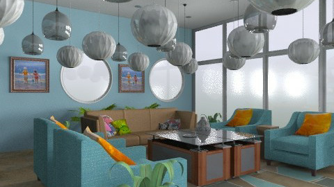 Life As A Fish - Eclectic - Living room - by tayloriginal