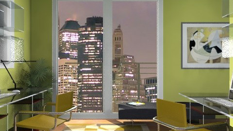Mishacarr Office - Modern - Office - by channing4