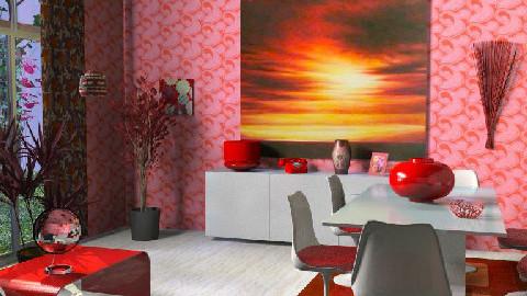 rouge - Dining Room - by maumau