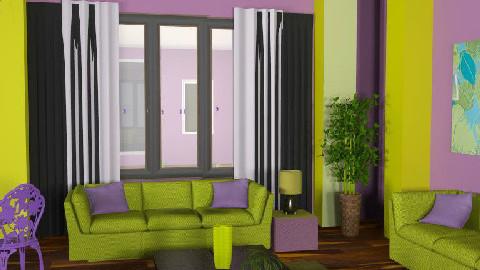 Impulse room - Living room - by szalaiedit