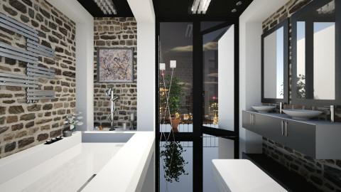 RemixTheSunkBathRoom - Modern - Bathroom - by Nard8A