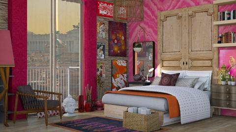 Bohemian  - Modern - Bedroom - by augustmoon