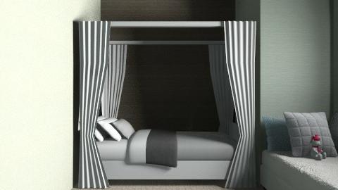 dorm - Bedroom - by Nina Gatta