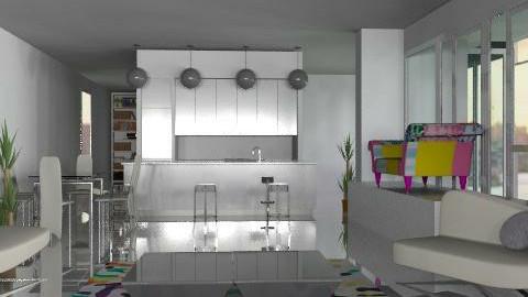 Richard Meier 1st try - Modern - Living room - by ellis1711