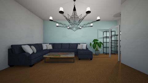 Orange - Living room - by Callie Carlson_192