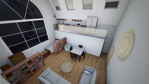 Mezzanine - Living room - by CleoBrown