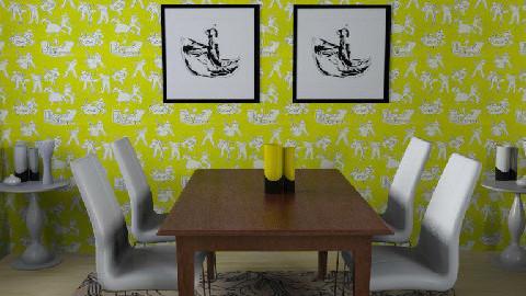Limenade - Dining Room - by gingerpantz